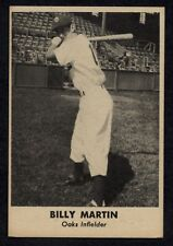 1949 REMAR BREAD BILLY MARTIN OAKLAND OAKS EXMT A4136