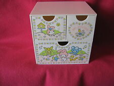SANRIO MY MELODY 3-DRAWER CHEST BIRDS VINTAGE COLLECTIBLE 1976