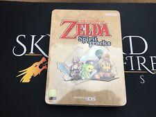 Leyenda De Zelda Spirit Tracks estatuillas de edición limitada (sellado) - Nintendo DS