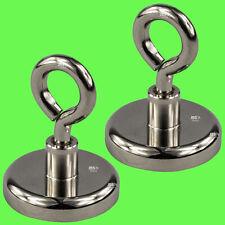 Magnetöse Neodym Ø 32 mm Topfmagnet 20 Stk Starke Haftkraft Magnet mit Öse ►