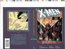 X-MEN DARK PHOENIX SAGA BILL SIENKIEWICZ ORIGINAL PRODUCTION ART COVER PROOF