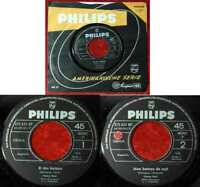 Single France Gall: Et Des Baisers (Philips 373 631 BF) D Musterplatte