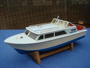 "VINTAGE 60er? Jahre Yacht ""nautic""  v. Graupner, L: 550mm, B: 180mm; M1:20"