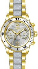 Invicta Women's Angel Quartz Multifunction Silver Dial Watch 24702