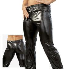 "Svenjoyment Wetlook Pantalon S 44 46 Brillant Noir Hommes Jeans échangiste ""deani"""