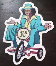 Pearl Jam Backspacer Johhny G Sticker Official Tom Tomorrow