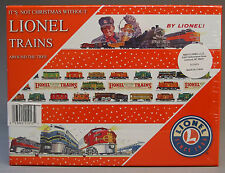 LIONEL CLASSIC CHRISTMAS ORNAMENTS (24) in GIFT BOX train christmas bulb 9-21013