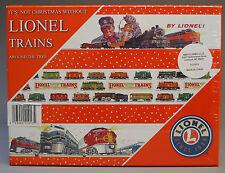 LIONEL CLASSIC CHRISTMAS TREE ORNAMENTS GIFT BOX (24) train engine bulb 9-21013