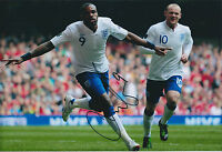 Darren BENT SIGNED 12x8 Photo AFTAL Autograph COA FULHAM England Genuine
