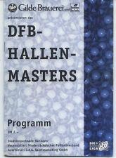 13.01.1997 DFB-Masters Hannover mit Schalke, Widzew Lodz, Fortuna Düsseldorf,...