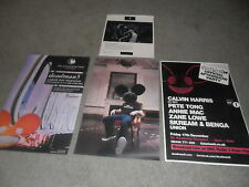 deadmau5 (4) Club Concert Promo Poster & Photo VERY RARE VEGAS !