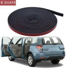 5M B-Shaped Car Door Seal Strip Trunk Weatherstrip Hood Edge Insulation Trim