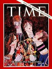 1960s Time magazine THE BEATLES replica fridge magnet - new!