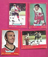 1973-74 OPC NHL PLAYERS CARD LOT  (INV# J0159)