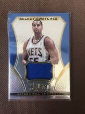 NBA Jersey Card Jayson Williams Panini Select 13-14