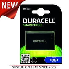 Duracell Nokia BL-5C & BL-5CB batería de repuesto para teléfono móvil │ Negro │