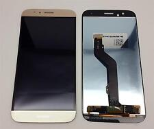 Huawei Ascend G8 Komplettes LCD Display Touchscreen Gold + Werkzeugset