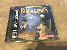 Ultimate Brain Games NEW factory sealed Playstation 1 PSX PS1