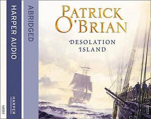 Desolation Island Aubrey-Maturin Patrick O'Brian Abridged CD Audio New/unsealed