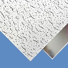 SUSPENDED VINYL LAMINATED TATRA WIPEABLE CLEAN CEILING TILES 595 x 595mm BOARD