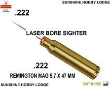 222 Bore Sight .222 Laser Boresighter Remington 5.7 X 47mm Copper Cartridge New