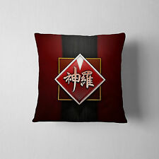 Final Fantasy 7 FF7 Shinra Electric Company Logo Throw Cushion Pillow Case Cover