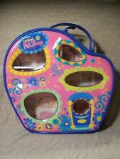 T9 Littlest Pet Shop LPS Carrying/Storage Case, Play House, Windows, Cute! 12x12