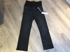 Urban Bliss Over Bump Maternity Cropped Kick Flare Jeans - Size 8 New With Tags