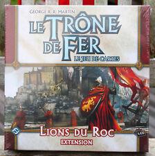 MARTIN LE TRONE DE FER EXTENSION LIONS DU ROC NEUF SOUS BLISTER