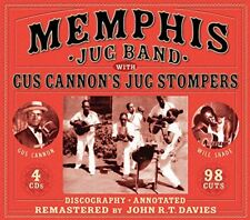 Memphis Jug Band - Memphis Jug Band With Gus Cannons Jug Stompers [CD]