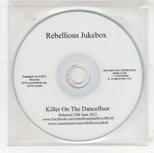(FV757) Rebellious Jukebox, Killer On The Dancefloor - 2012 DJ CD