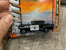 Matchbox 2012 #69 MBX Old Town #9 56 Buick Century Police Car MOC W4889
