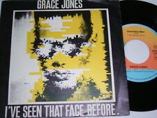 "7"" - Grace Jones I´ve seen that Face before & Demolition Man - Dutch # 3529"