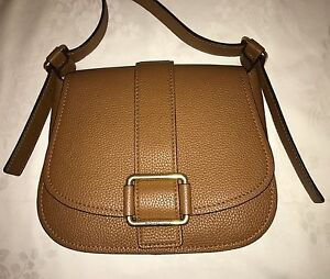 NWT MICHAEL Michael Kors Medium Maxine Large Saddle Shoulder Bag~MSRP$358
