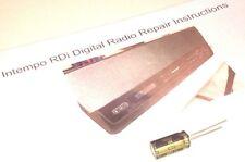 Intempo RDI Radio Digital/iPod Dock Kit de reparación con instrucciones ilustradas