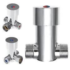 Hot Cold Water Temperature Control Thermostatic Mixing Valve Sensor Faucet Tap
