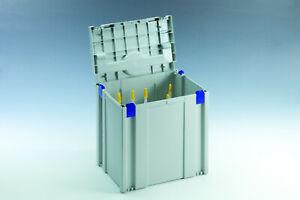 TANOS Classic Kartuschen Einsatz Systainer V SYS 5 licht grau koppelbar > T-LOC