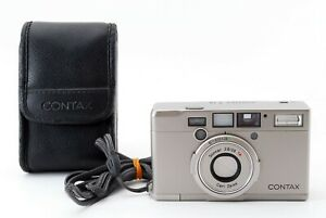 Contax Tix APS Point & Shoot Film Camera w/Case Silver Exce MIJ Fedex #5698