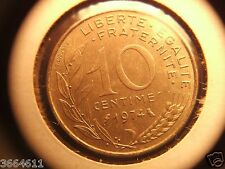 1974 FRANCE 10 CENTIMES