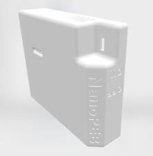 NanoPEB Shell - Case - Cover for TI 99/4A  3D Printed
