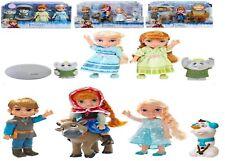 Disney Frozen Petite Toddlers Anna And Elsa Trolls Oaken Trading Post Gift Set
