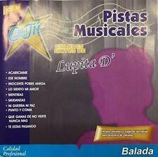 Lupita D'Alessio : Vol. 39 Latin Pop/Rock Cd