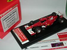 Tameo 1:43 Built TMB 003 Ferrari 150* Italia F.1 2nd Monaco GP 2011 Alonso NEW