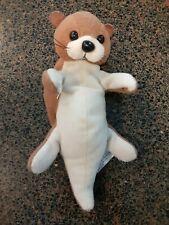 "VERY RARE Vintage Zangeen Sea Otter Beanbag Plush Stuffed Animal Doll 6"""