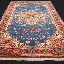 Türkischer Orient Teppich 265 x 180 cm Milas Melas Blau Blue Turkish Carpet Rug