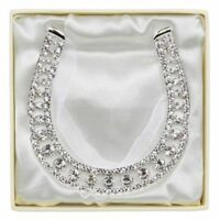 Diamonte Wedding Horseshoe Favour Gift Keepsake Bridal Horse Shoe Bride LP16490