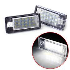 2x Error Free LED License Plate Lights Lamp Bulbs Fits Audi A3 A4 B6 B7 A6 A8 Q7