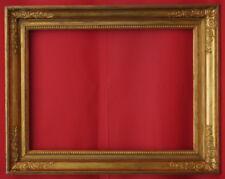 Rahmen - Spiegelrahmen - 19. Jh. - Holz, Ornamente Masse, vergoldet    (# 0962)