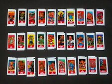 GARBAGE PAIL KIDS 2003 All New Series 1 Gum Wrapper Small Sticker Set (60) -ANS1
