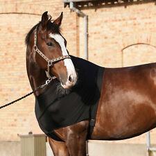Catago Brustschutz für Pferde - Schwarz Schutz Verletzung Scheuerstelle Wunden